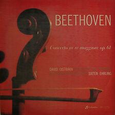 Oistrakh: Beethoven Violin Concerto - Italian Columbia QCX 10120 (LP is sealed)