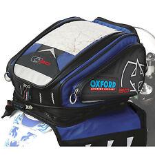 Oxford X30 Tankbag Magnetic Blue OL128 Lifetime Luggage