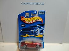 2003 Hot Wheels #123 Red Mercedes 500SL w/PR5 Spoke Wheels