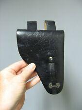 Holster étui pour 7,65 cuir noir. WWII