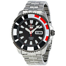 Sports mechanisch - (automatische) Seiko 5 Armbanduhren aus Edelstahl
