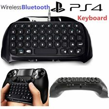 PlayStation for PS4 Bluetooth Wireless Keyboard Chatpad Controller GamePad NC