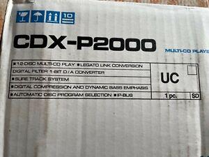 Pioneer CDX-P2000 premier12 disc old school Japanese cd changer NIB
