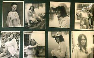 JENNY AGUTTER RARE VINTAGE 8 PHOTOS 10X7 DBL WEIGHT JOE BANGAY MICHAEL J BARRETT
