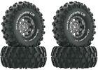 "Duratrax DTXC4035 1.9"" Showdown CR C3 Mounted Tires / Wheels (4) Rock Crawler"