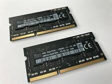 Hynix HMT451S6BFR8A-PB 8GB (2x4GB) PC3-12800 (DDR3-1600) DDR3 SDRAM SODIMM