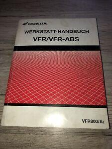 Honda VFR800 Werkstatthandbuch