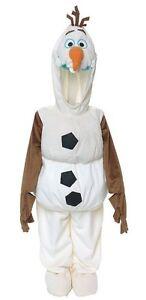 NWT! DISNEY STORE Frozen OLAF Snowman Fancy Dress COSTUME S 5/6