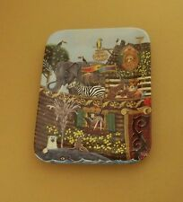 Noah's Ark Great And Small Plate #2 Tom Neel Religious Bible God Mib