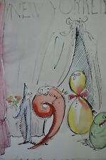 Paul Degen - Original Drawing for New Yorker
