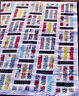 SALE - Traffic - fabulous modern pieced quilt PATTERN - Jaybird Quilts