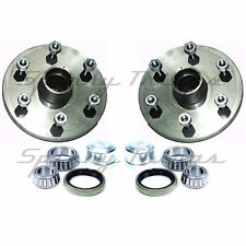 Hubs (PAIR) 4WD 6 stud LANDCRUISER with HOLDEN bearings - Caravan Trailer Parts