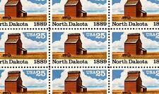 1989 - NORTH DAKOTA STATEHOOD - #2403 - Full Mint Sheet of 50 Postage Stamps