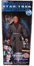 """CAPTAIN JEAN-LUC PICARD First Contact STAR TREK TNG 9"""" ACTION FIGURE mib"""
