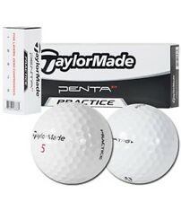 "TaylorMade Penta TP5 Balls { Only 24 Dz. Left } ""Practice"" logo Bulk /New 4Dz."