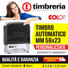 TIMBRI AUTOINCHIOSTRANTI 59x23 AUTOMATICO PERSONALIZZATO - TIMBRO LOGO GRATIS