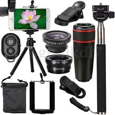 All in1 Phone Camera Lens Travel For iPhone Xs/Max XR X 8 7/PLUS Samsung Note9 8