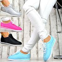 Neu LuXus Designer Sportschuhe NEON Pink Türkis Sneaker Turnschuhe Damenschuhe
