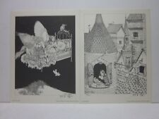 Flight of Fancy + Madame Mimi by Lela Dowling  - Both  Signed+Numbered Prints