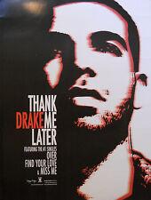DRAKE, THANK ME LATER POSTER  (V5)