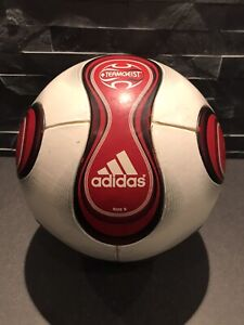 AdidasTeamgeist Official Match Ball Fußball Ball OMB rot Gr. 5
