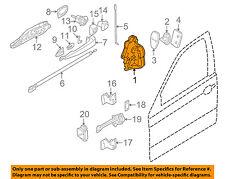 BMW OEM 01-06 325Ci Front Door-Lock 51217011247