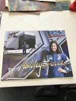 """Ashley Force Signed - Autographed Race Car Driver 11""""x8.5"""" Ford Racing Photo"""