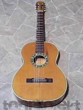 interessante alte 3/4 Klassik Gitarre vollmassiv vintage guitar guitare Germany