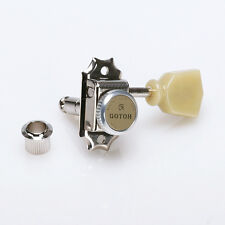 MECANIQUES BLOCABLES GOTOH SD90 MG-T MAGNUM LOCK TRAD. 3x3 locking tuners NICKEL