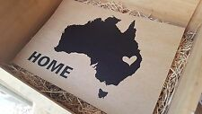AUSTRALIA PRINT sign, home, Aussie day, man cave poster school decor vintage map