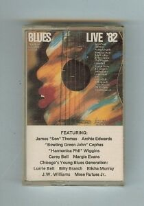AMERICAN FOLK BLUES FESTIVAL '82 - VARIOUS ARTISTS - CASSETTE - NEW
