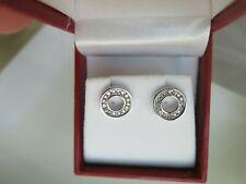 10k White Gold Diamond Stud Earrings (#482)