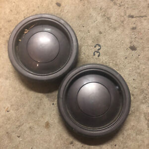 Dyson DC07 Wheels And Clips Vacuum Cleaner Part Used Condition See Photos