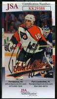 John Leclair JSA Coa Hand Signed 1997 Fleer Ultra Autograph