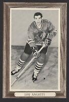 1964-67 Beehive Group III Chicago Blackhawks Photos #30 Lou Angotti