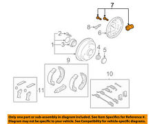 FORD OEM 00-11 Focus Rear-Wheel Cylinder 6S4Z2261AA