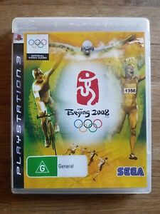 BEIJING 2008. PS3 GAME. OFFICIAL GAME. SEGA. ONE WORLD. ONE DREAM. ONE GAME.