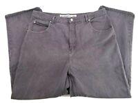 Anchor Blue Beyond Baggy Gray Wide Skater Street Denim Jeans Mens 42x32 (40x34)