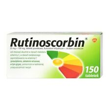 RUTINOSCORBIN 150 TABLETS COLD  FLU  FEVER