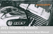 2015 Harley Touring OEM Factory Service Shop / Repair CD Manual
