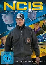 6 DVDs * NCIS - STAFFEL / SEASON 13 ~ Navy CIS - Deutsche Ware # NEU OVP +