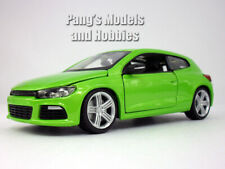 Volkswagen VW  Scirocco R 1/24 Scale Diecast Model by Bburago - Green