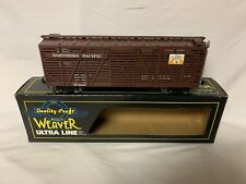 ✅WEAVER PIG PALACE NORTHERN PACIFIC 40' STOCK CATTLE CAR W/ LIONEL TYPE COUPLERS