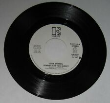 "Josie Cotton - DJ/promo 45 - ""Johnny Are You Queer"" [stereo & mono] - A-side NM"
