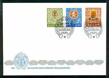 Used First Day Cover Estonian Stamps