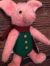 Disney Christopher Robin Movie Winnie The Pooh PIGLET Plush Theme Parks NEW NWT