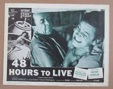 48 HOURS TO LIVE MOVIE POSTER LOBBY CARD #5 1960 ORIGINAL 11x14 ANTHONY STEEL