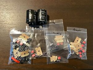 Pioneer SX-550 Complete Rebuild Kit High-Quality Receiver Recap Caps Transistors