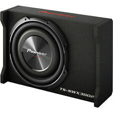 "Pioneer TS-SWX3002 400W RMS 12"" Shallow Mount Sealed Car Subwoofer Enclosure/Box"