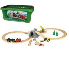 BRIO Bahn Minen Set mit Batterielok in Box Holzeisenbahn Set Brio 33167 NEU/OVP